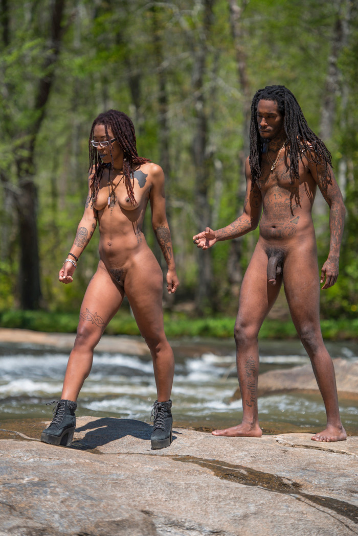 FEATURE: Darria James & Carlton Hudson become one with nature in