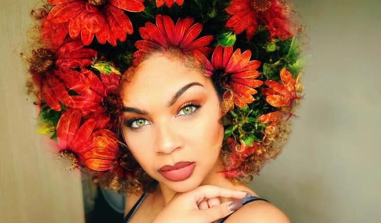 FEATURE: Artist Pierre Jean-Louis uses graphics app to glorify natural black hair | AFROPUNK