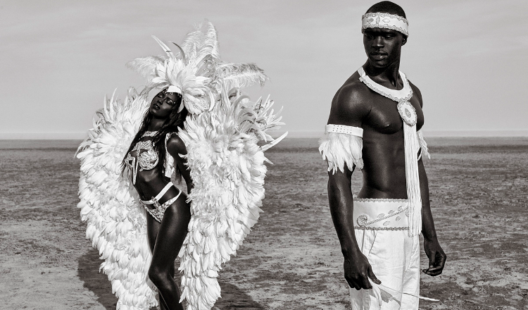 Feast your eyes on this sumptuous black and white editorial series by photographer ishmil waterman a toronto based artist of trinidadian heritage