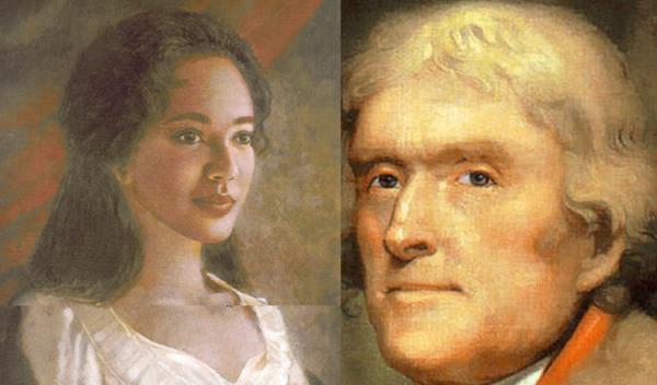 "Thomas Jefferson raped Sally Hemings: she wasn't his ""mistress ..."